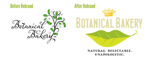 The Botanical Bakery Rebrand: Think of it as Venus and Mars