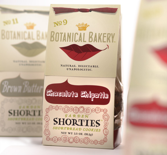Botanical Bakery's NEW Package Design for the new flavors