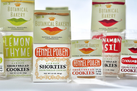 Botanical Bakery's award-winning package design by DBD International and David Brier