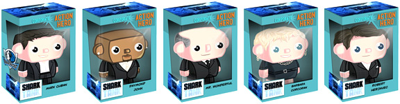 Shark Tank Hit TV Action Figures