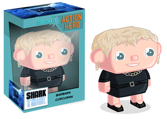 Barbara_Corcoran Shark Tank Action Figure