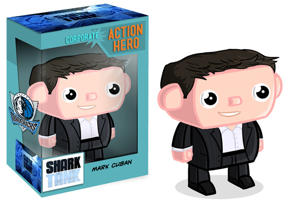 Marc Cuban Shark Tank Action Figure