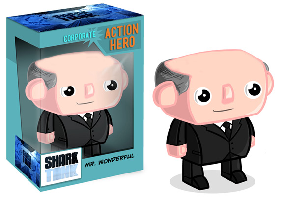 Kevin O'Leary Shark Tank Action Figure