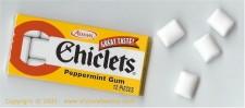 Chiclet gum
