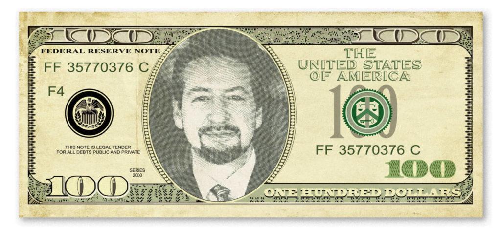 David Brier $100 Bill