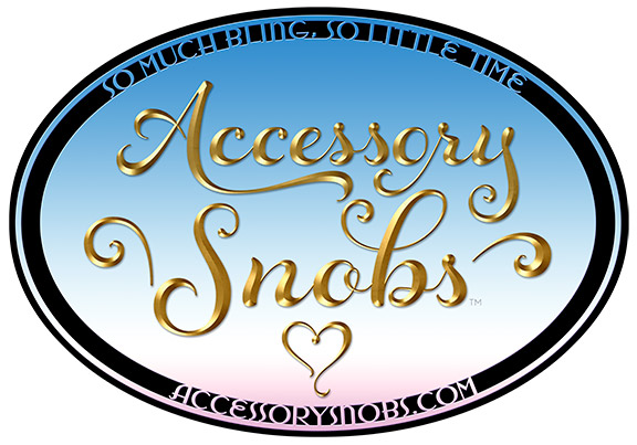 Accessory Snobs Logo, with all the bling and ready to party
