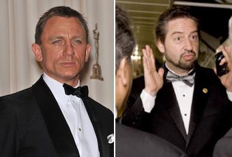 Daniel Craig Faces Off with David Brier