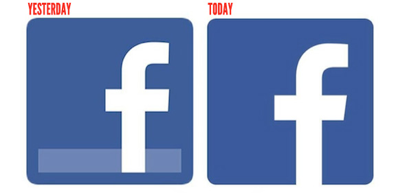 FACEBOOK'S NEW LOOK AND LOGO