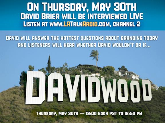 David Brier speaks in Hollywood