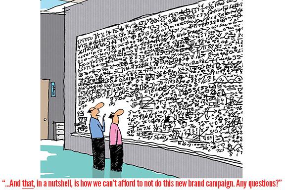 Branding is not an expense