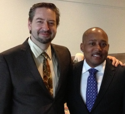 Daymond John and David Brier