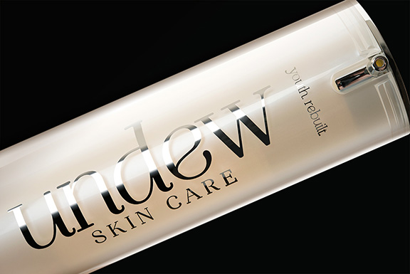 Package Design and Brand identity: UNDEW skin care