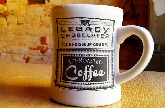 Coffee obsession by David Brier for Legacy Chocolates