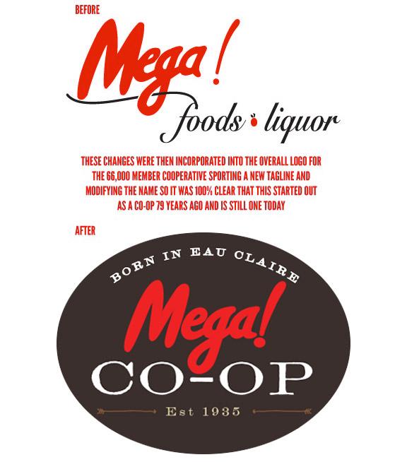 Logo Design for Mega Co-op