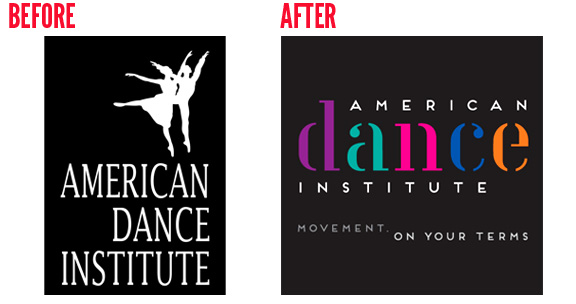 American Dance Institute Branding Logo Design