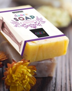 American Dance Institute Branding Soap Packaging
