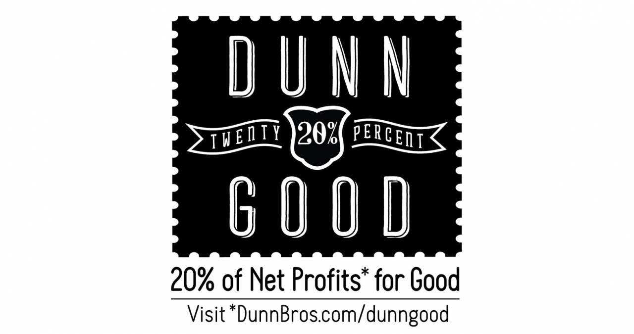 Dunn Good Logo design by David Brier