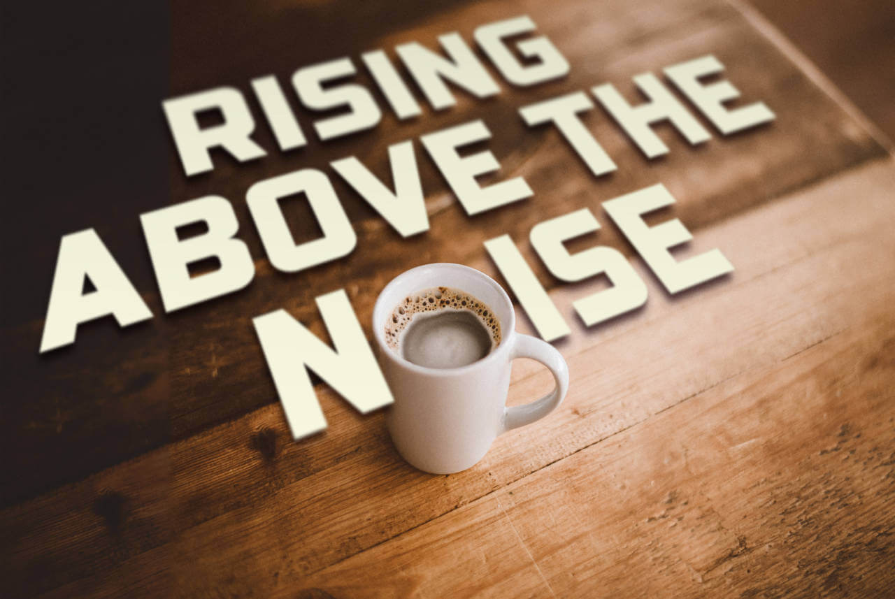 coffee and typography by david brier