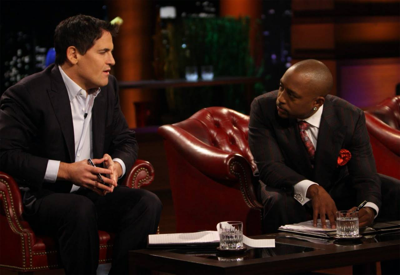 Daymond John and Mark Cuban