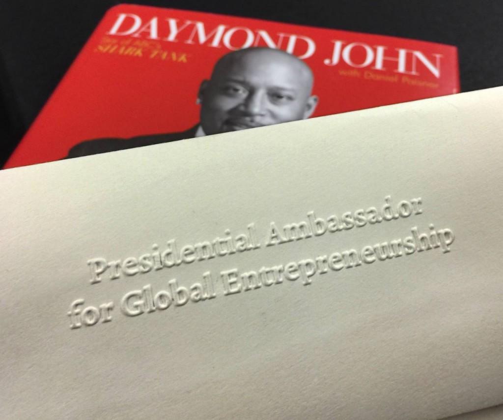Daymond John, entrepreneurs, branding and david brier