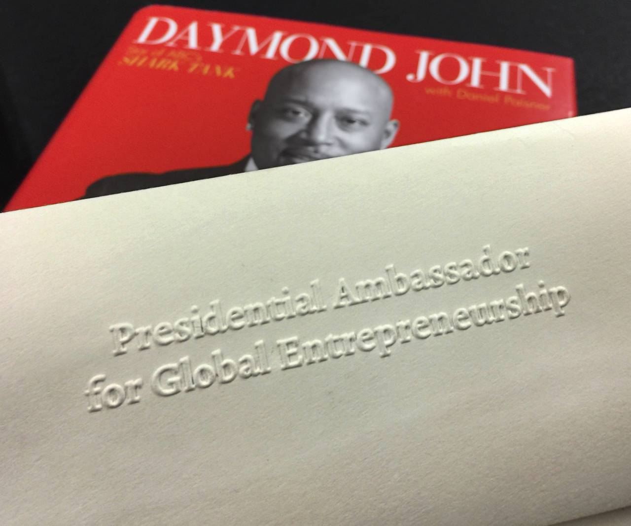 Daymond John, entrepreneurs, branding and david brier