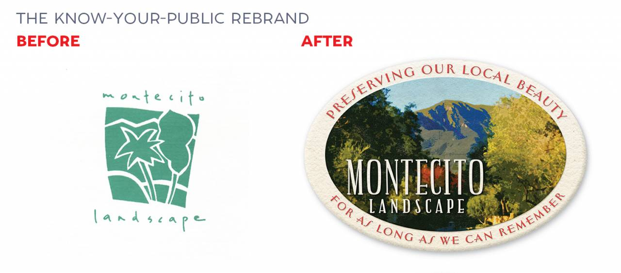 Rebranding example by David Brier — How to rebrand