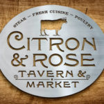 Branding Secrets: Citron and Rose Tavern and Market logo