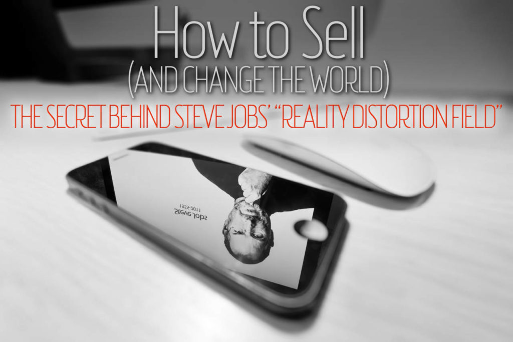 Steve Jobs and how to sell