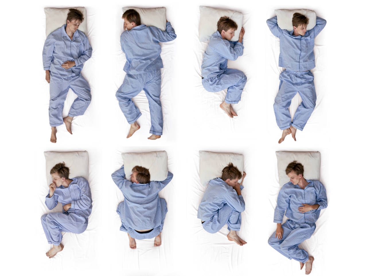 sleeping positions and branding