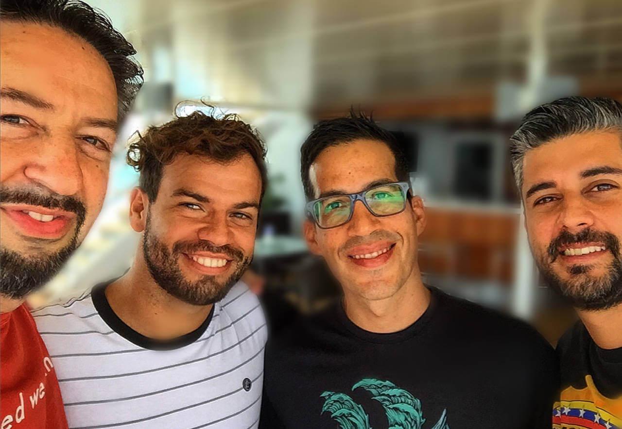 DAVID BRIER with Venezuelan Brothers