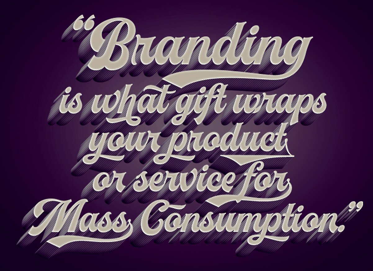 Branding as gift wrapping