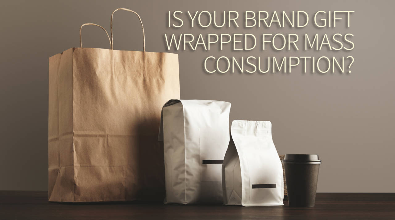 Gift wrapping branding with ted rubin
