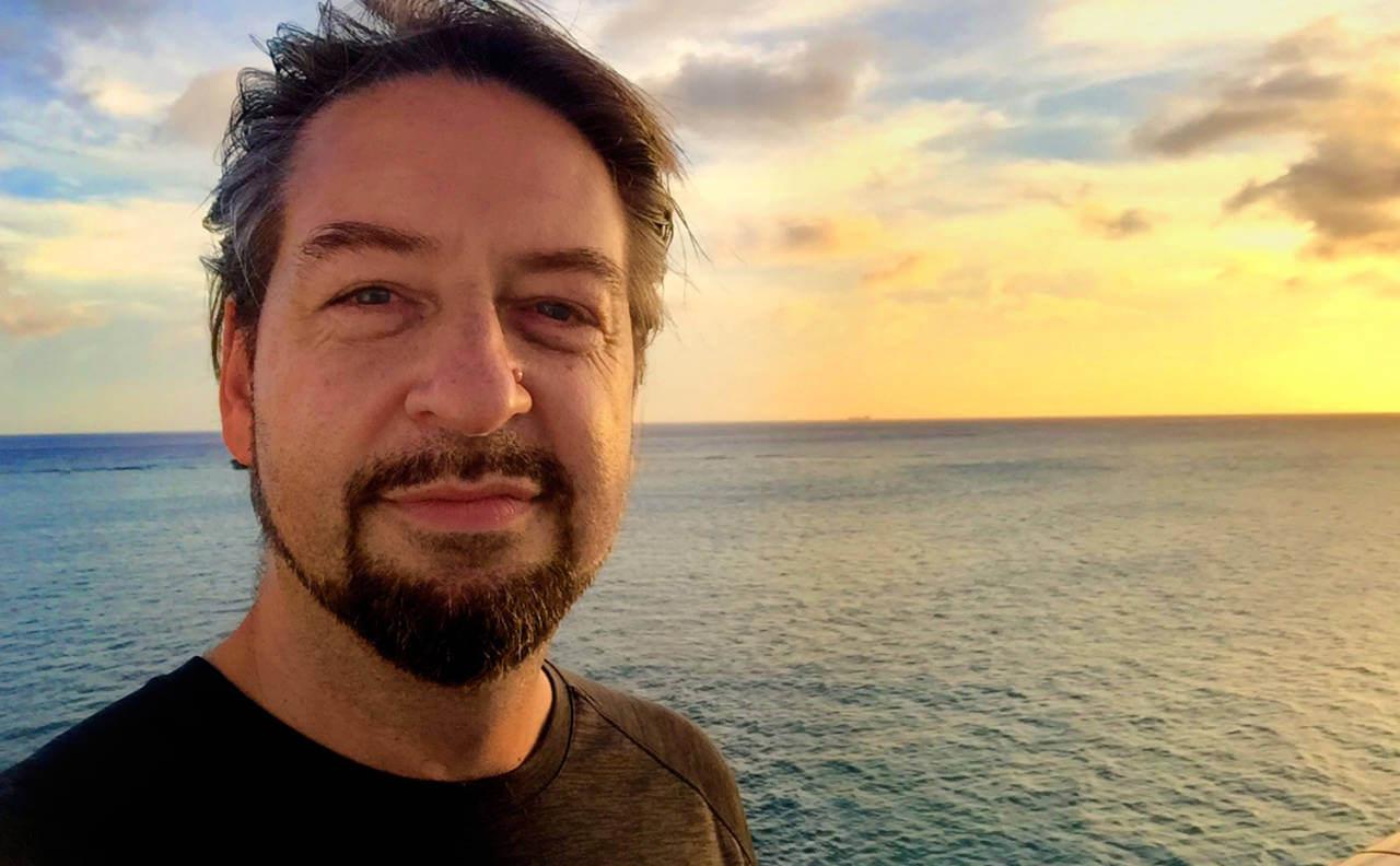 David Brier at Sea