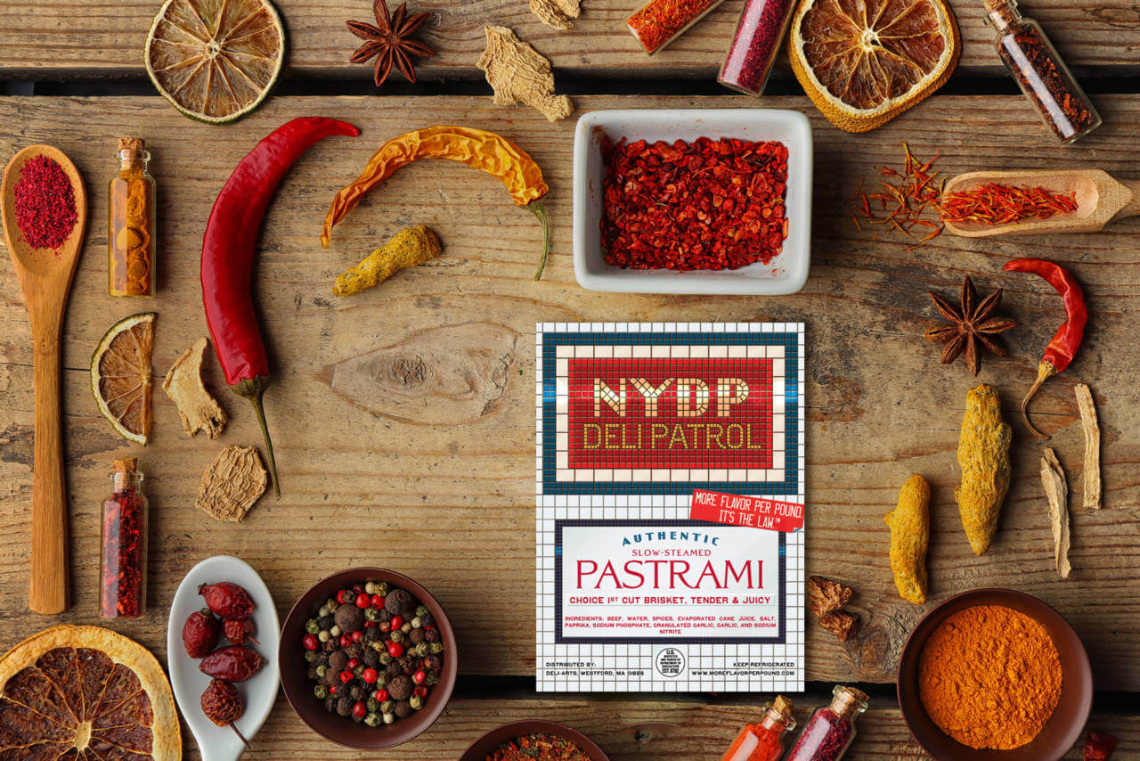 Food branding by David Brier