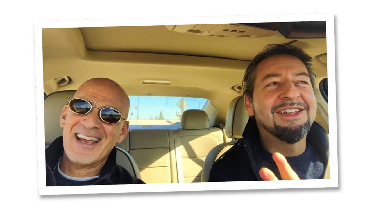 Carpool Standup with David Brier and Ted Rubin
