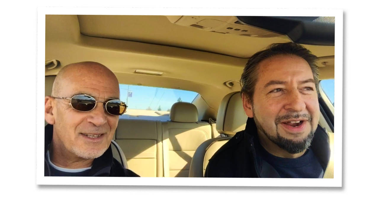 Carpool Standup with David Brier and Ted Rubin