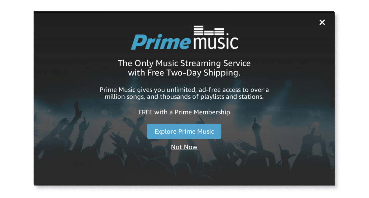 amazon prime music's mistake
