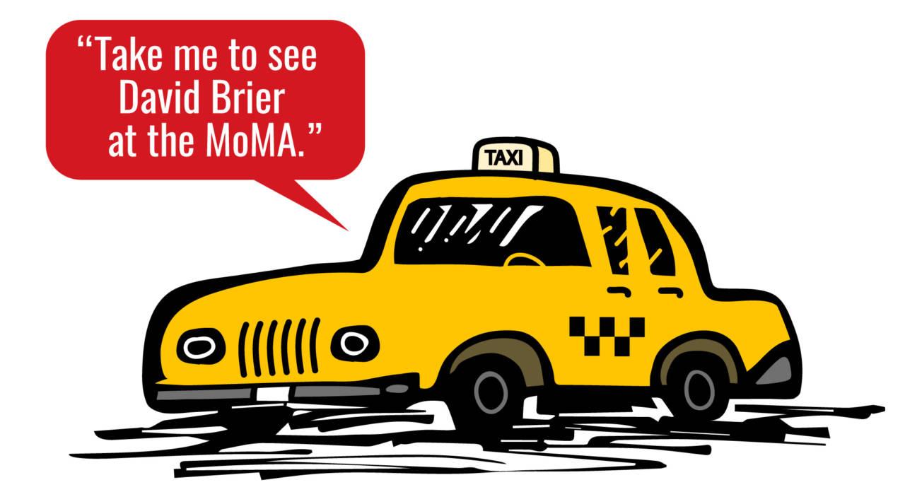 David Brier brand expert at the MoMA