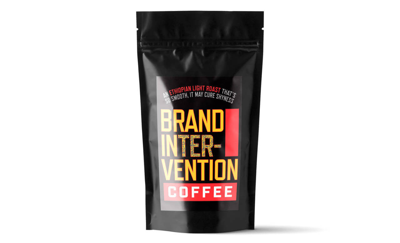 Brand Intervention Coffee