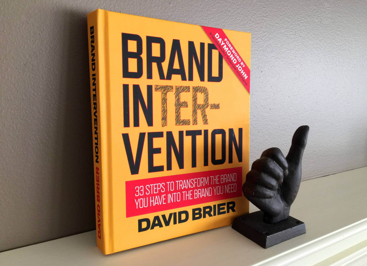 Brand Intervention Book Design by David Brier