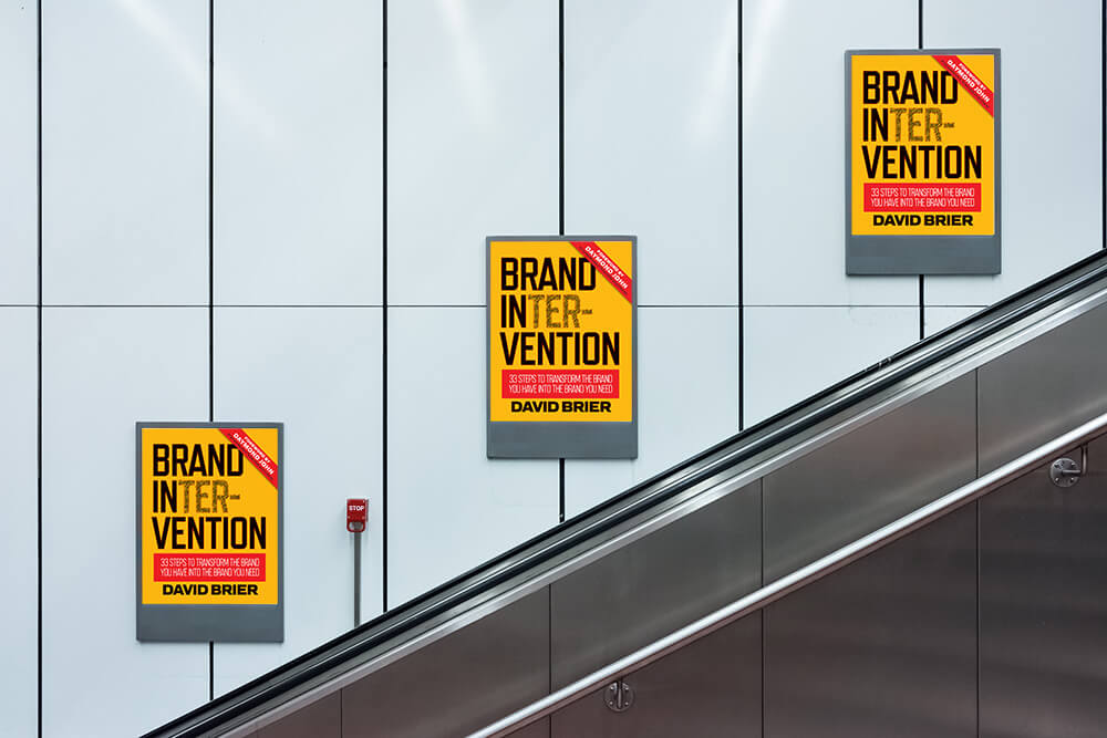 Brand Intervention Escalator Pitch