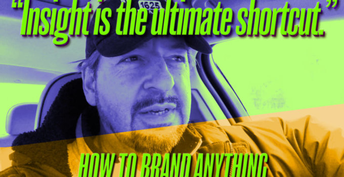 Brand Intervention: How to Brand Anything (new video)