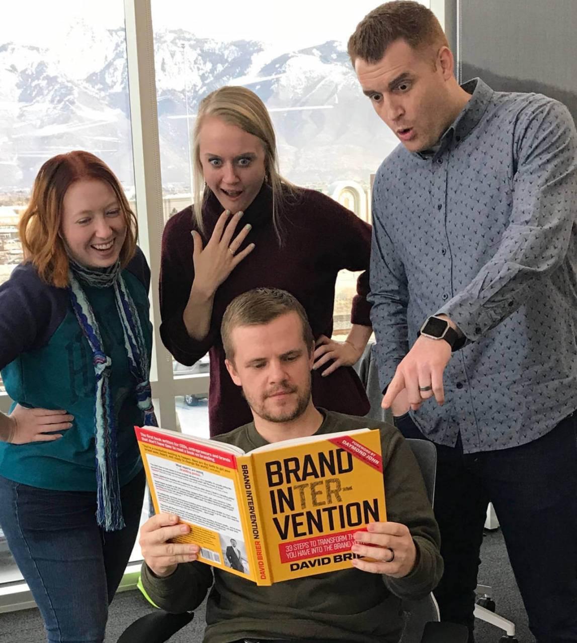Brand Intervention and Lucidpress