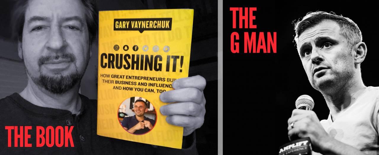 Gary Vaynerchuk with David Brier Crushing It