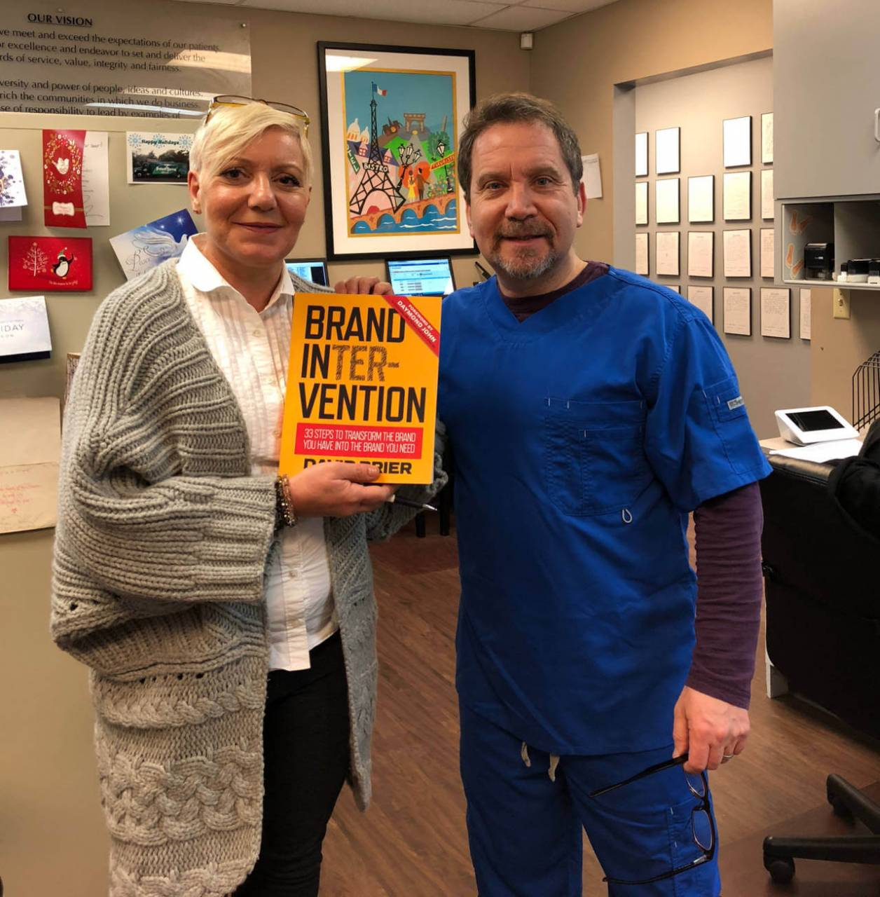 Brand Intervention and a Book owner start a movement