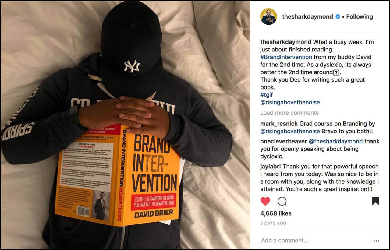 Daymond John embraces his inner Brand Intervention