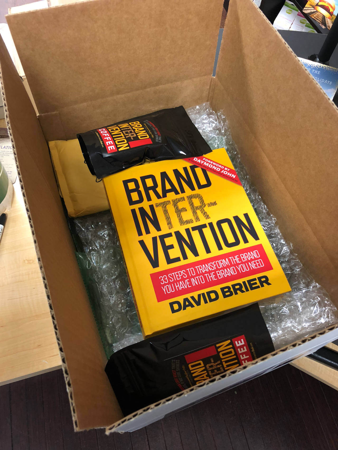 Gary Vee and his Sneaker Box from David Brier
