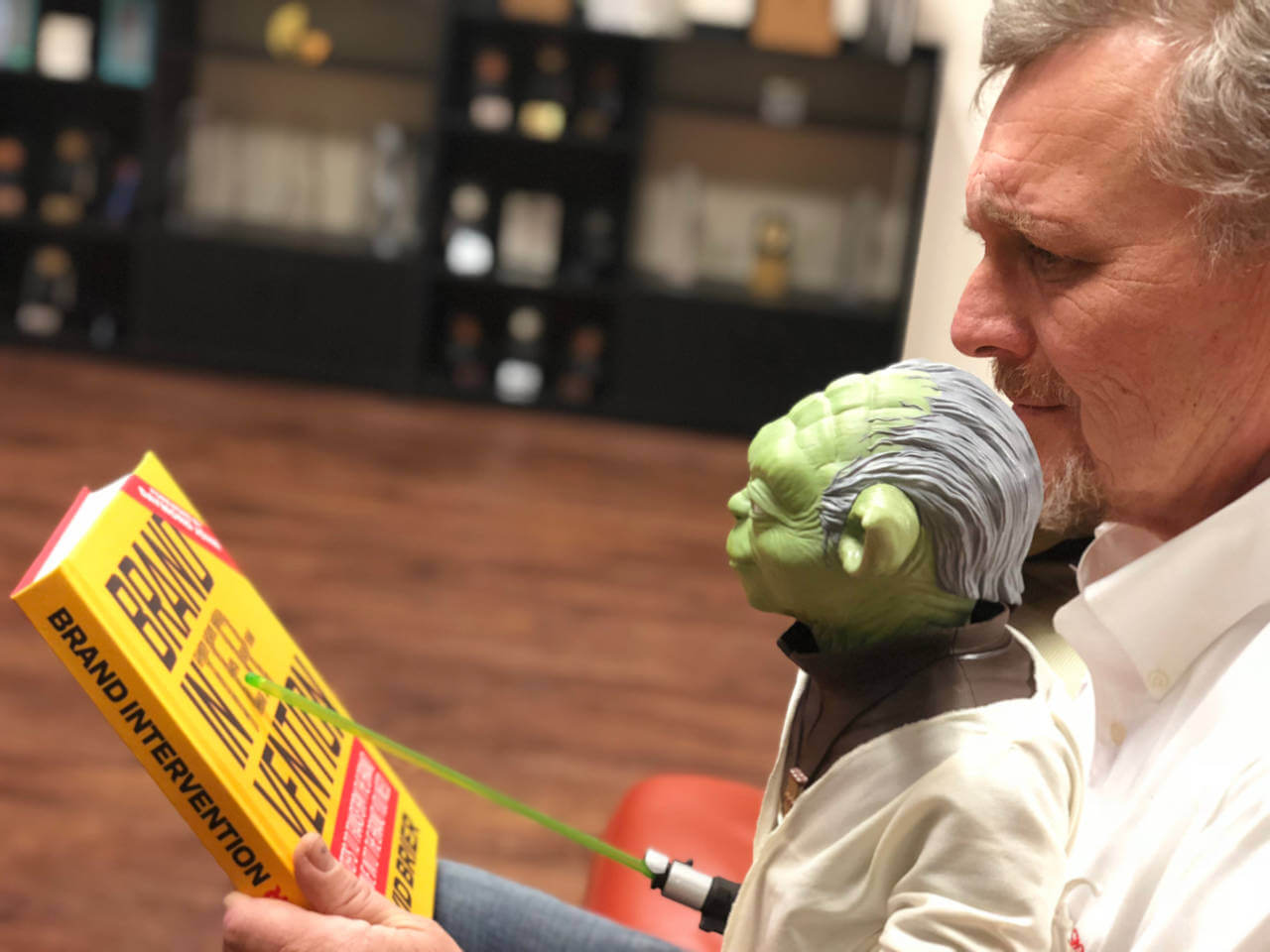 Brand Intervention meets Yoda from Star Wars