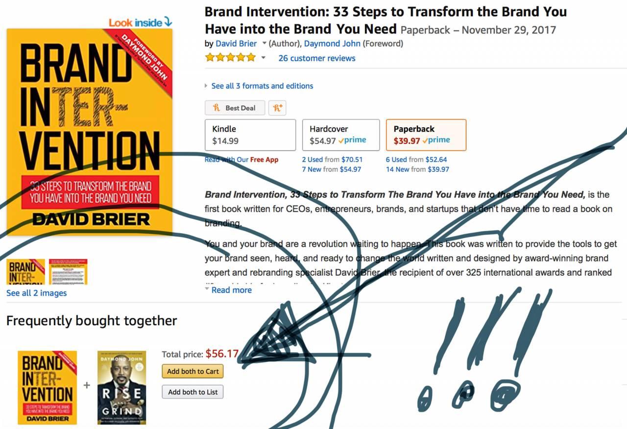 Amazon bestseller by David Brier