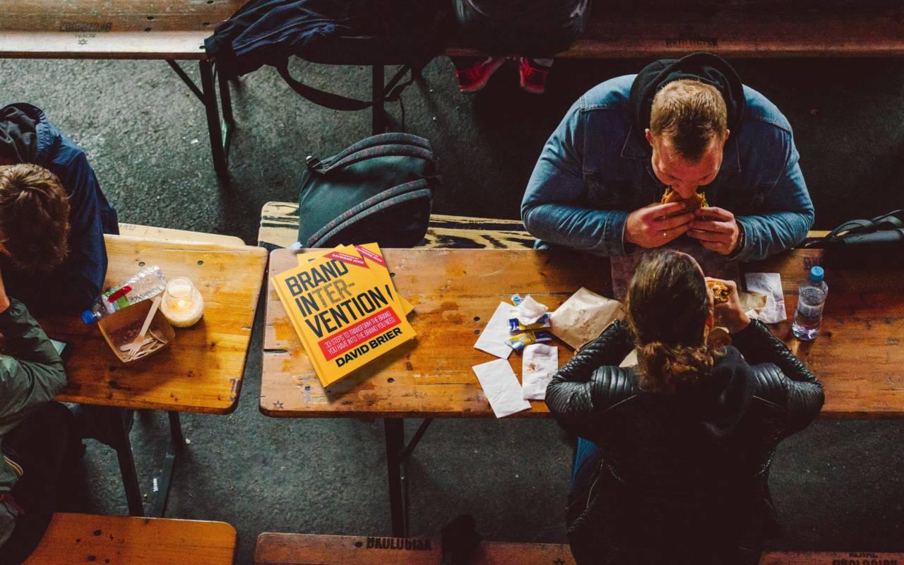 David Brier's bestselling book Brand Intervention